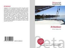 Al-Baidawi kitap kapağı