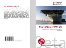 Buchcover von USS Sandpiper (AM-51)