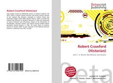Bookcover of Robert Crawford (Historian)