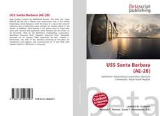 Portada del libro de USS Santa Barbara (AE-28)