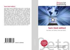 Bookcover of Sam (text editor)