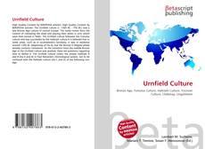 Couverture de Urnfield Culture