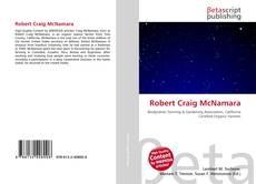 Couverture de Robert Craig McNamara
