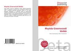 Portada del libro de Rhytida Greenwoodi Webbi