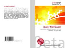 Xyster Framework kitap kapağı