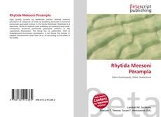 Обложка Rhytida Meesoni Perampla