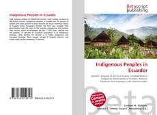 Couverture de Indigenous Peoples in Ecuador