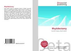 Copertina di Rhytidectomy