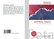 Bookcover of Saint-Rémy, Aveyron