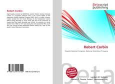 Robert Corbin kitap kapağı