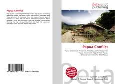 Copertina di Papua Conflict
