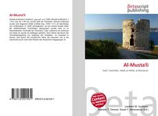 Capa do livro de Al-Musta'li
