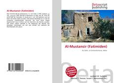 Capa do livro de Al-Mustansir (Fatimiden)