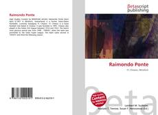 Обложка Raimondo Ponte