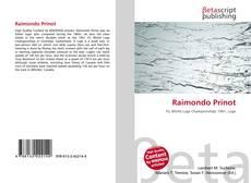 Copertina di Raimondo Prinot