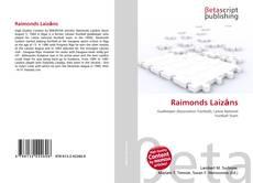 Capa do livro de Raimonds Laizāns