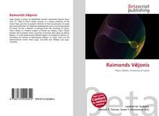 Capa do livro de Raimonds Vējonis