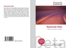 Capa do livro de Raimonds Vilde