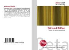 Обложка Raimund Bethge