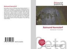 Обложка Raimund Harmstorf
