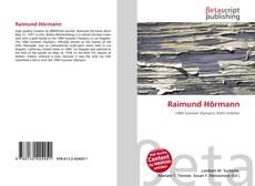 Обложка Raimund Hörmann