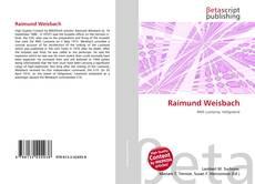 Обложка Raimund Weisbach