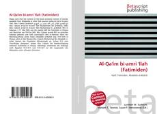 Al-Qa'im bi-amri 'llah (Fatimiden) kitap kapağı