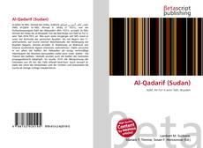 Al-Qadarif (Sudan)的封面