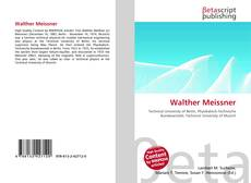 Couverture de Walther Meissner