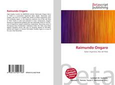 Bookcover of Raimundo Ongaro