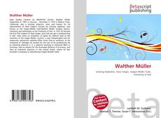 Bookcover of Walther Müller