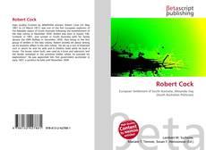 Capa do livro de Robert Cock