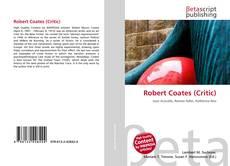 Copertina di Robert Coates (Critic)