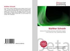 Buchcover von Walther Schroth