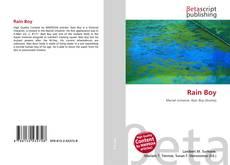 Bookcover of Rain Boy