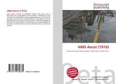 Bookcover of HMS Ascot (1916)