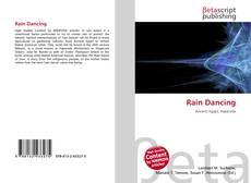 Capa do livro de Rain Dancing
