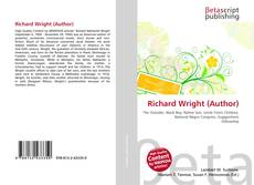 Bookcover of Richard Wright (Author)