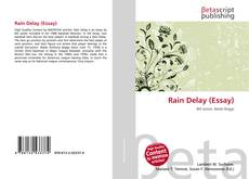 Copertina di Rain Delay (Essay)