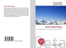 Bookcover of Pamir Mountains