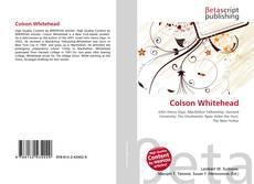 Обложка Colson Whitehead