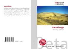 Bookcover of Rain Gauge