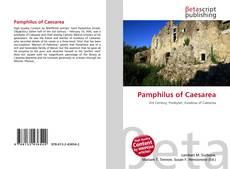 Copertina di Pamphilus of Caesarea