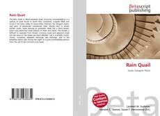 Capa do livro de Rain Quail