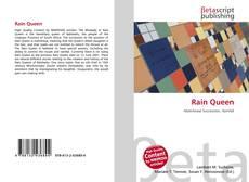 Rain Queen的封面