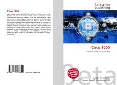 Bookcover of Cisco 1000
