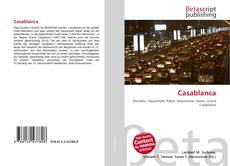 Bookcover of Casablanca