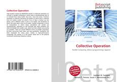 Bookcover of Collective Operation