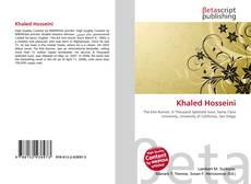 Bookcover of Khaled Hosseini