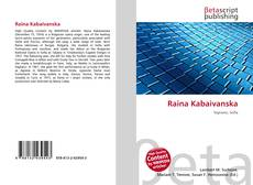 Buchcover von Raina Kabaivanska